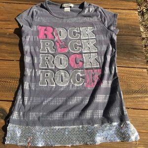 Belle Du Jour rock girls shirt